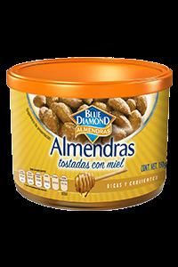 ALMENDRAS TOSTADAS CON MIEL