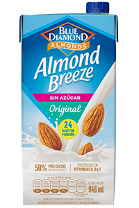 ALMOND BREEZE® SIN AZÚCAR
